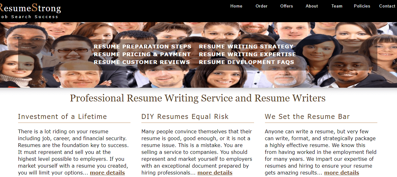 Resumestrong.com Review by Resumereviewer.org